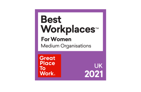 Compound Semiconductor Applications (CSA) Catapult officially named a 2021 UK's Best Workplaces™ for Women